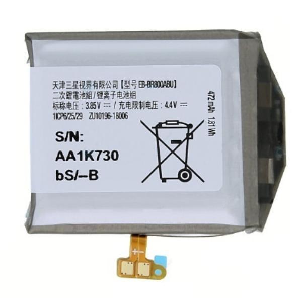 BATERIA ORIGINAL PARA SAMSUNG WATCH SM-R805FZS, R800 DE 472MAH