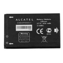 BATERIA ORIGINAL ALCATEL CAB30P0000C1 / CAB20100000C1 / CAB3CP000CA1 / TB-4X