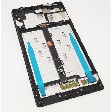 PANTALLA LCD + TACTIL CON MARCO PARA LENOVO PHAB 2 650N - NEGRA