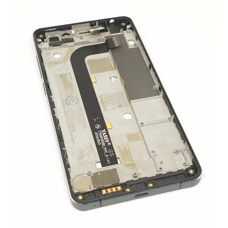 PANTALLA LCD + TACTIL CON MARCO ORIGINAL PARA INNJOO ONE 4G - NEGRA