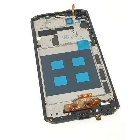 PANTALLA LCD DISPLAY + TACTIL CON MARCO PARA LG Q8 H970 - NEGRA