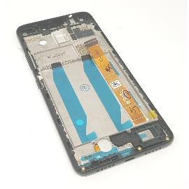 PANTALLA LCD Y TACTIL CON MARCO PARA ALCATEL 3V 5099D - NEGRA