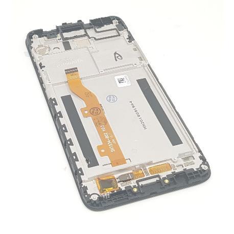 PANTALLA LCD Y TACTIL CON MARCO PARA ALCATEL 1X 5059 - NEGRA