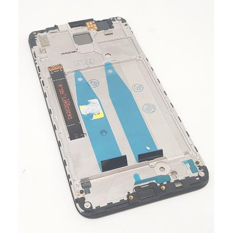 PANTALLA LCD DISPLAY + TACTIL CON MARCO PARA MEIZU X8 - NEGRA