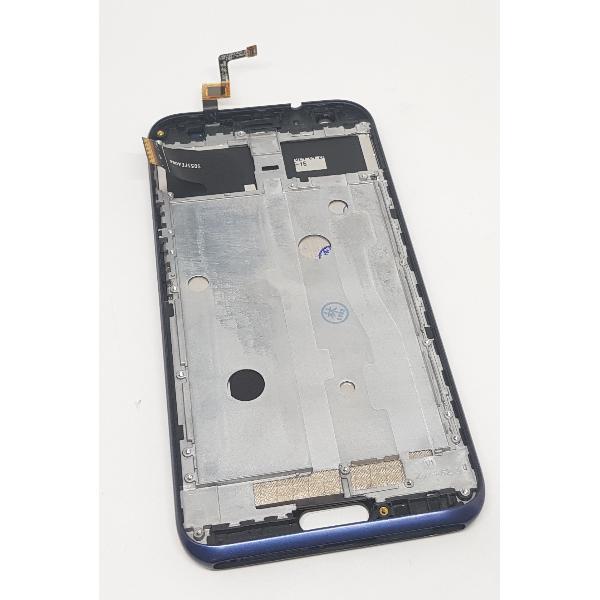 PANTALLA LCD DISPLAY + TACTIL CON MARCO PARA DOOGEE BL5000 - AZUL