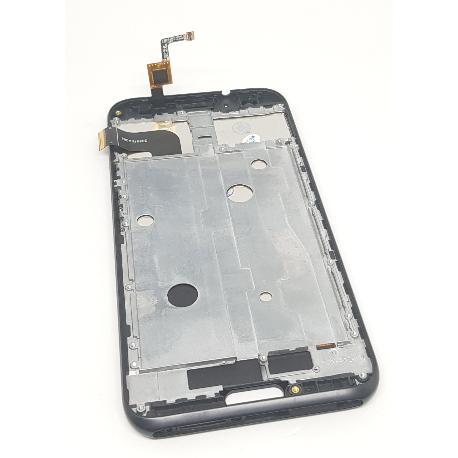 PANTALLA LCD DISPLAY + TACTIL CON MARCO PARA DOOGEE BL5000 - NEGRA