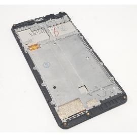 PANTALLA LCD DISPLAY + TACTIL CON MARCO PARA DOOGEE F7 - NEGRA