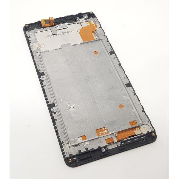 PANTALLA LCD + TACTIL CON MARCO ORIGINAL PARA INNJOO HALO 3 PLUS - NEGRA