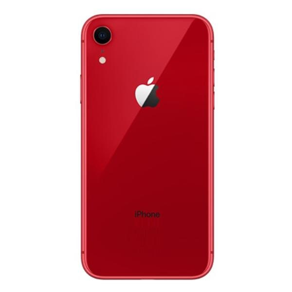 CARCASA CENTRAL Y TAPA TRASERA PARA IPHONE XR - ROJA