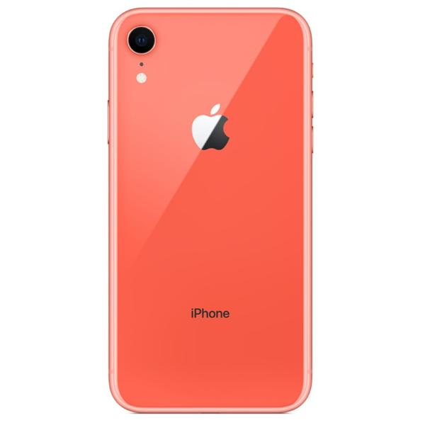 CARCASA CENTRAL Y TAPA TRASERA PARA IPHONE XR - CORAL