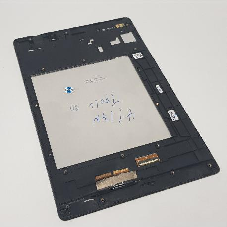 PANTALLA LCD DISPLAY + TACTIL CON MARCO PARA ASUS ZENPAD 3 8.0 Z580KL - NEGRA
