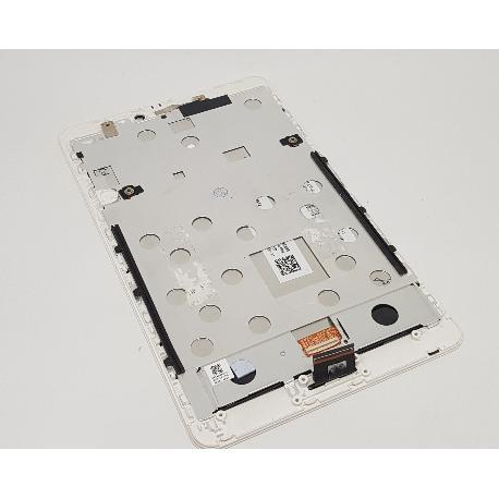 REPUESTO PANTALLA LCD DISPLAY + TACTIL CON MARCO PARA ACER TAB 8 A1-840 FHD - BLANCA