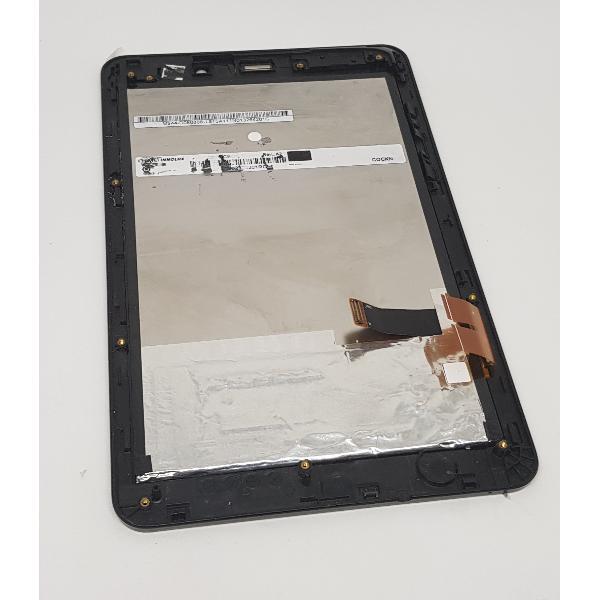 PANTALLA LCD DISPLAY + TACTIL CON MARCO ORIGINAL ASUS MEMO PAD ME371 K004 - NEGRA