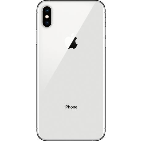 CARCASA CENTRAL Y TAPA TRASERA PARA IPHONE XS - BLANCO
