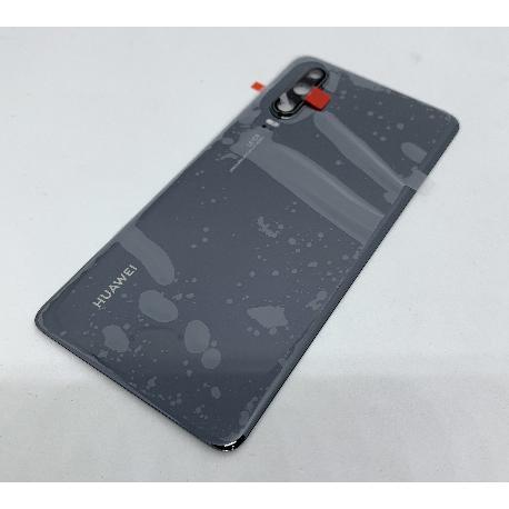 Tapa Trasera para Huawei P30 - Negra - Con Lente