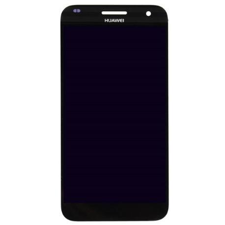 REPUESTOS PANTALLA LCD DISPLAY + TACTIL PARA HUAWEI ASCEND G7 - NEGRA USADA