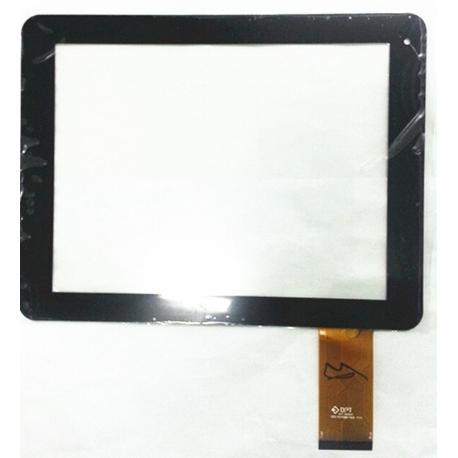 PANTALLA TACTIL PARA TABLET WOXTER PC QX80 QX 80 - NEGRA