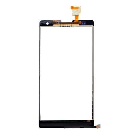 PANTALLA LCD + TACTIL CON MARCO ORIGINAL HUAWEI G740 ORANGE YUMO BLANCA