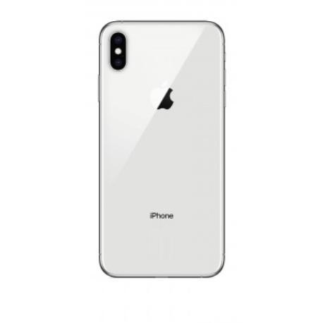 CARCASA CENTRAL Y TAPA TRASERA PARA IPHONE XS MAX  - BLANCA