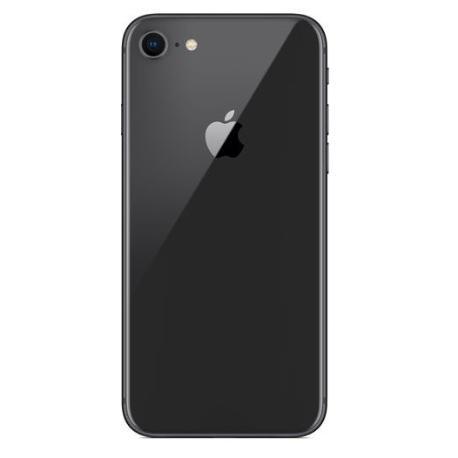 Carcasa Intermedia con Tapa Trasera Para iPhone 8 - Negra
