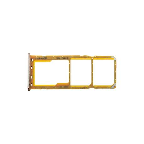 BANDEJA DUAL SIM Y SD PARA SAMSUNG A30 / A50 - ROSA / FLAMINGO