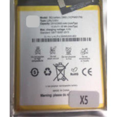 BATERIA BQ2900 COMPATIBLE CON BQ X5