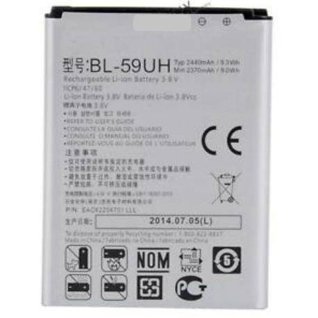 BATERIA LG BL-59UH COMPATIBLE CON LG G2 MINI LTE, F70 D315