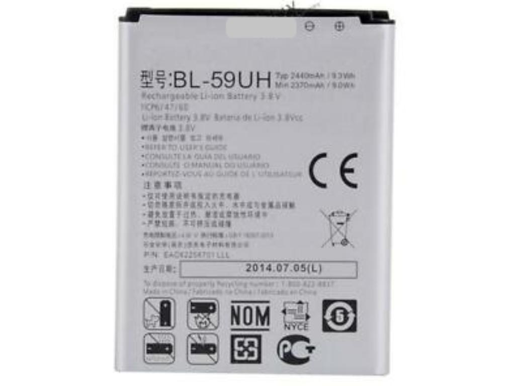39538fdc4b3 Bateria Lg bl-59uh Compatible con LG G2 Mini LTE, F70 D315