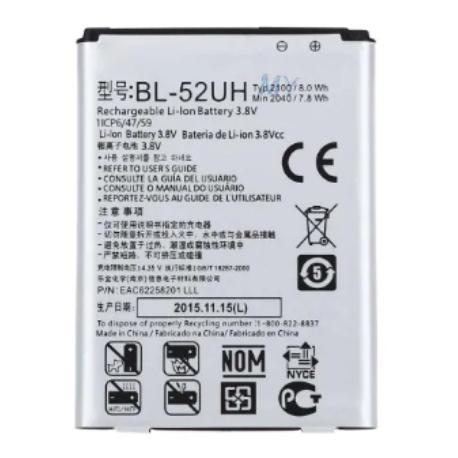 BATERIA BL-52UH COMPATIBLE CON LG D320 D325 L70, L65 , D280, H420