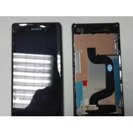 Pantalla Lcd + Tactil con Marco Original Sony Xperia E3 D2202 D2203 D2206 D2212 Negra de desmontaje