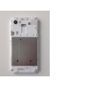 Carcasa Intermedia Original Sony Xperia E3 D2202 D2203 D2206 D2212 Blanca Remanufacturada