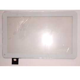 Pantalla Tactil de 10.1 Pulgadas para Tablet Wolder mITab Seattle y Szenio PC 2003G HS1291 VOM100 - Blanca