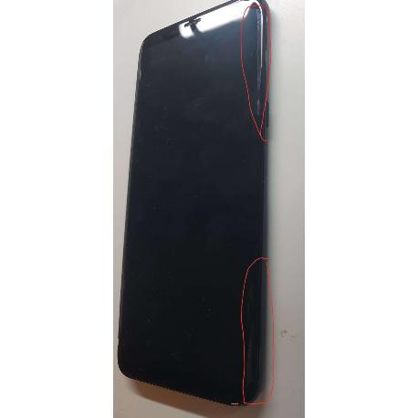 Pantalla Negra con Marco Negro Original para Samsung SM-G955F Galaxy S8 Plus - Usada CON TARA