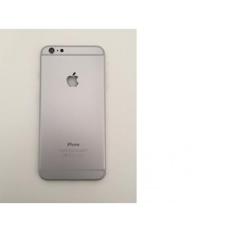 Carcacasa Tapa Trasera para iPhone 6+, 6 Plus - Plata