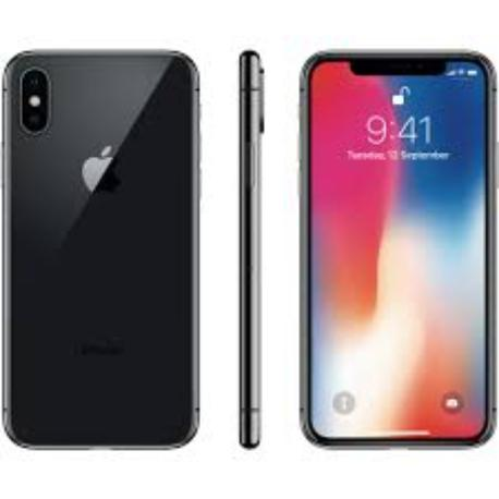 * TELEFONO MOVIL REACONDICIONADO IPHONE X 64GB NEGRO - GRADO B