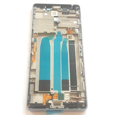 PANTALLA ORIGINAL IPS LCD PARA SONY XPERIA L3 - PLATA