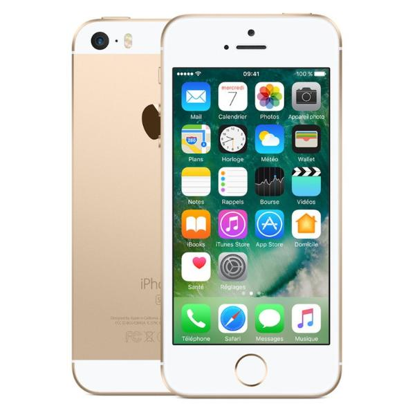 * TELEFONO MOVIL REACONDICIONADO IPHONE SE 16GB ORO  - GRADO B