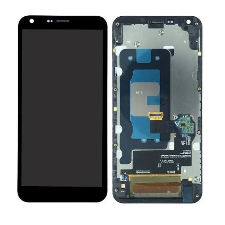 PANTALLA LCD DISPLAY + TACTIL CON MARCO PARA LG Q6 PLUS - NEGRA