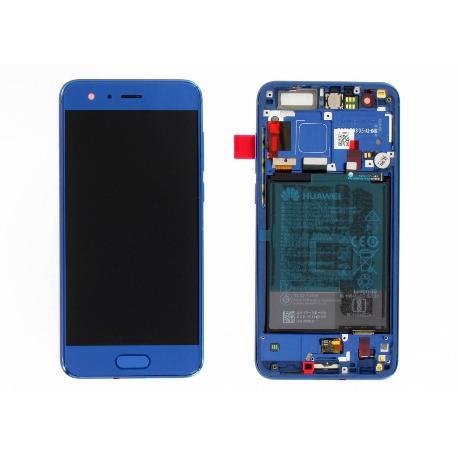 PANTALLA LCD DISPLAY + TACTIL CON MARCO ORIGINAL PARA HUAWEI HONOR 9 STF-L09 AZUL - USADA