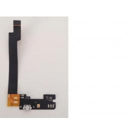 Flex Conector de Carga Micro USB Y Microfono Original para BQ Aquaris E5, E5 FHD