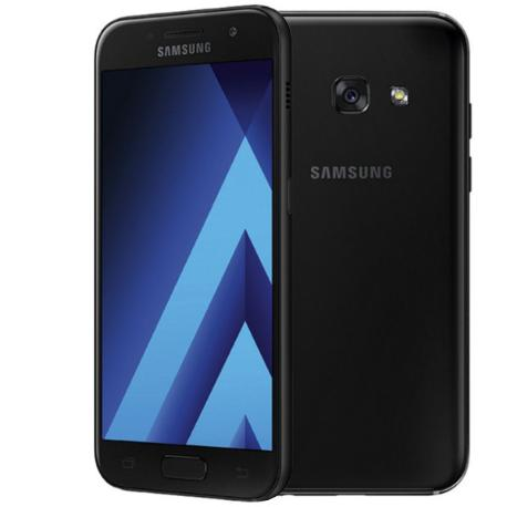 * TELEFONO MOVIL REACONDICIONADO SAMSUNG GALAXY A3 2017 16GB NEGRO - GRADO A