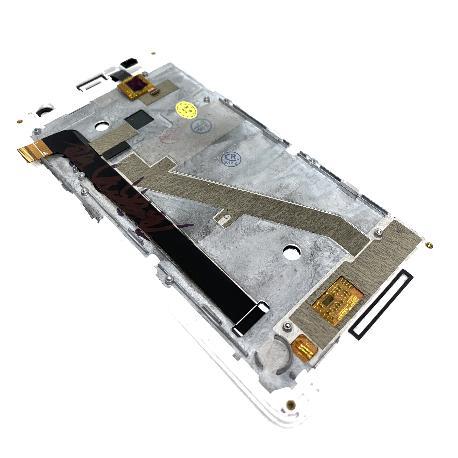 PANTALLA LCD Y TACTIL CON MARCO PARA ZTE L5 PLUS - BLANCA