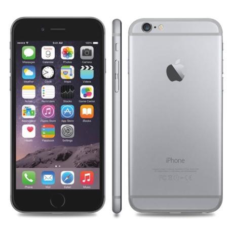 * TELEFONO MOVIL REACONDICIONADO IPHONE 6 64GB NEGRO - GRADO B