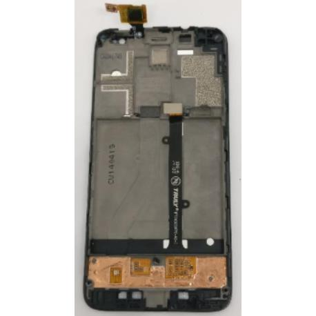 PANTALLA LCD DISPLAY + TACTIL CON MARCO ORIGINAL PARA ALCATEL ONE TOUCH IDOL MINI OT-6012X (ORANGE HIRO) - NUEVO
