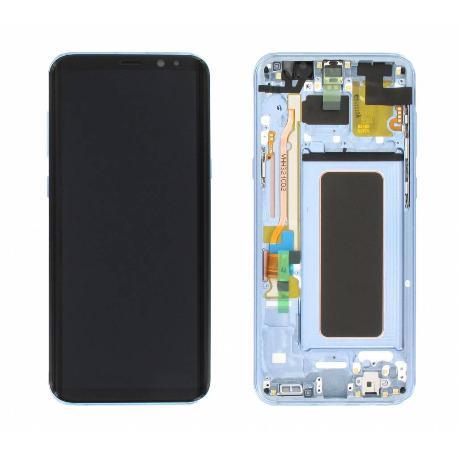 PANTALLA DISPLAY LCD+TACTIL ORIGINAL PARA SAMSUNG SM-G955F GALAXY S8 PLUS,GALAXY S8+  - AZUL