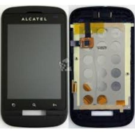 PANTALLA LCD + TACTIL CON MARCO PARA ALCATEL ONE TOUCH 918