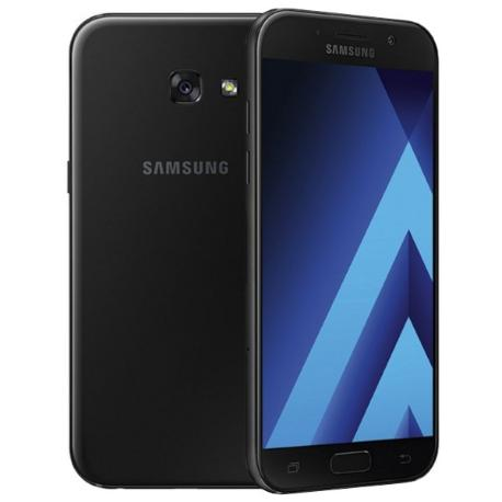 * TELEFONO MOVIL REACONDICIONADO SAMSUNG GALAXY A5 2017 A520 32GB NEGRO - GRADO C