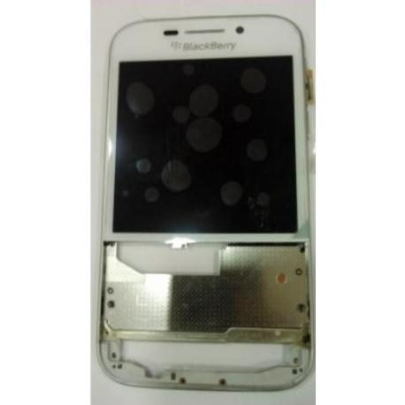 PANTALLA LCD DISPLAY + TACTIL CON MARCO PARA BLACKBERRY Q20 - BLANCA