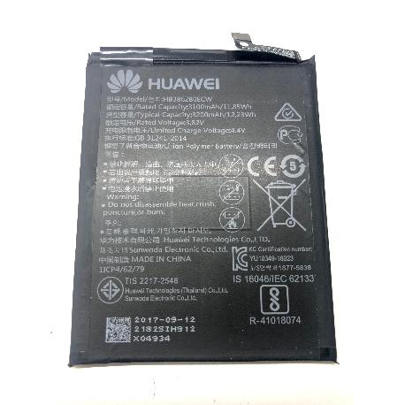 BATERIA HB386280ECW ORIGINAL PARA HUAWEI P10, HONOR 9 DE 3020MAH USADA