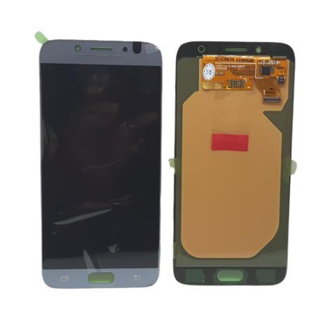PANTALLA LCD DISPLAY + TACTIL PARA SAMSUNG J730 GALAXY J7 2017 - PLATA / AZUL
